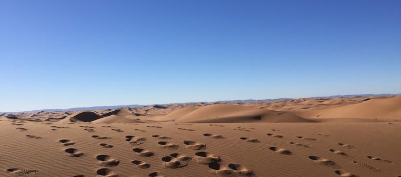 Trek désert marocain